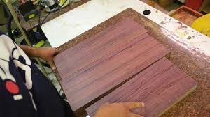 luthier wood review purpleheart dense hardwood beautiful color