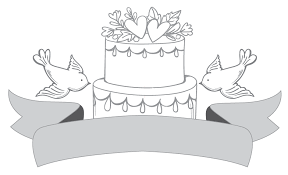 wedding cake logo free logo creator create vintage wedding logo design with logomaker