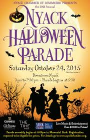 a nyack halloween 2015 parade music theater and a classic film