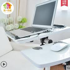 Bedside Table Desk Fashion Printing Mobile Laptop Table Independent Mouse Board Lazy