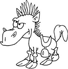 coloring pages fany horses jewels coloring