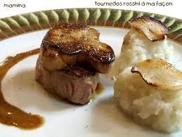 cuisiner tournedos tournedos rossini foie gras truffe et topinambour recette