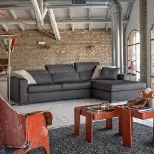 canapé industriel le canapé poltronesofa meuble moderne et confortable archzine fr