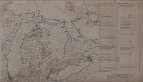 New York Central Railroad Map by New York Central System Map Indexes