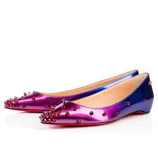 Degraspike Flat Patent Scarabe Rose Digit Gd Red Blue Patent
