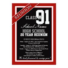 high school reunion banners high school reunion invitations announcements zazzle