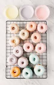 cuisine pastel pastel icing drip donuts a subtle revelry