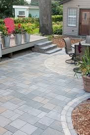 Building A Raised Patio With Retaining Wall by Patios U0026 Cooking Areas Villa Landscapes