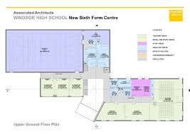trafford centre floor plan associated architects windsor high school new sixth form centre