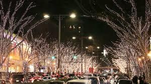 christmas lights shibuya tokyo hd stock video 476 225 298
