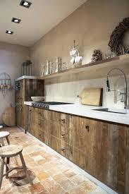 cuisines en bois cuisine bois massif awesome cuisine bois brut la cuisine en bois