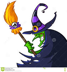 free halloween images on white background halloween ugly witch in a hat with a broom on white background