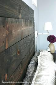 headboard rustic headboard diy reclaimed wood look door rustic