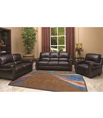 living room sets tuscany 3 piece leather set