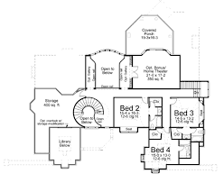 home theater floor plan european style house plan 4 beds 4 5 baths 4041 sq ft plan 119
