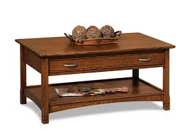 Open Coffee Table West Lake Open Coffee Table With Drawer