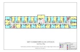 1047 commonwealth ave floor plan housing boston university
