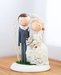 rustic wedding cake topper cake topper wooden by theroomba on etsy