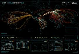 Geo Mapping 2017 Global Internet Map By Telegeography Is Amazing And Now You