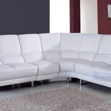 White Leather Corner Sofa Bed Gallery White Leather Corner Sofa Sale Buildsimplehome