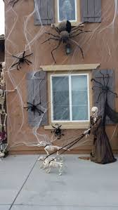 halloween outdoor decoration best 25 halloween spider decorations ideas on pinterest