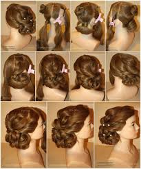 Easy Updo Hairstyles Step By Step by Casual Archives Page 62 Of 65 Best Haircut Style