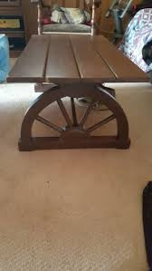 Wagon Wheel Coffee Table by Vintage Wagon Wheel For Salein Fort Worth Tx 5miles Buy And Sell