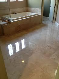 polished travertine floor tile tile floors more