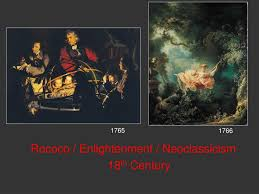 ppt rococo enlightenment neoclassicism 18 th century