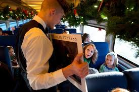 everyone should take this magical polar express christmas train