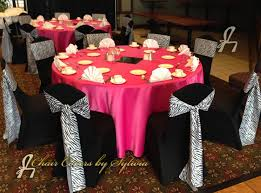 Chair Covers By Sylwia Chicago Chair Ties Sashes For Rental In Zebra In The Designer