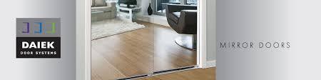 mirror doors daiek door systems