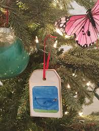 two easy cheap kid ornament ideas
