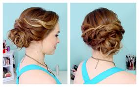 dressy hairstyles for medium length hair casual updo hairstyles for medium length hair casual updo