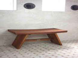 wood bath stool with padded rotating seat u2014 the kienandsweet