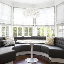 Upholstered Banquettes Home Design Graceful Curved Upholstered Banquette M 315e188c46ed