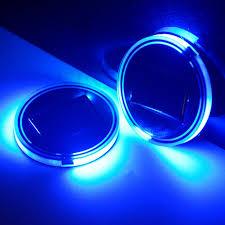 aliexpress buy kindafly 2 pack led solar car cup holder