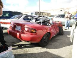 Mazda Miata Saves Owner U0027s Life After Being T Boned By Jeep Running