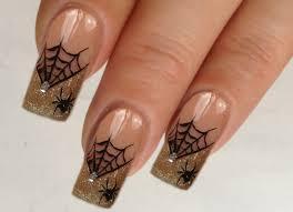 nailart design tutorial halloween glamorous spiderweb 3 4 youtube