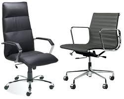fauteuil de bureau cuir noir chaise bureau cuir chaise de bureau sans vivo cuir noir