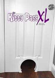 Cat Door For Interior Door Amazon Com The Kitty Pass Xl Large Cat Door Interior Large Pet