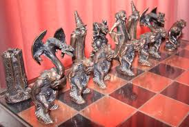 coolest chess sets home