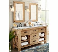 barn bathroom ideas stunning pottery barn vanity mirror cool ideas for bathroom image