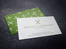 Hairdresser Business Card Templates Resume Business Cards Template Free Resume Cv Business Card