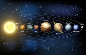 images planets solar theme sketches in order space 3d 7426x4804