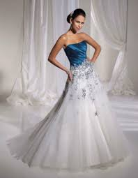 wedding dresses with color white wedding dresses with color accents collection on ebay