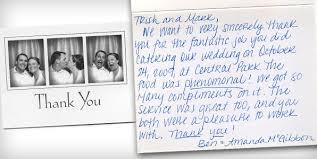wedding thank you wedding thank you cards donatelli s