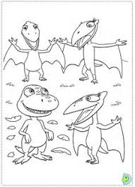 dinosaur train coloring pages coloring pages