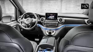 2016 mercedes benz v class 250d amg line interior design hd youtube