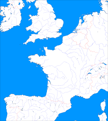 Blank China Map by Blank Map Of France With Main Rivers France Free Maps Free Blank
